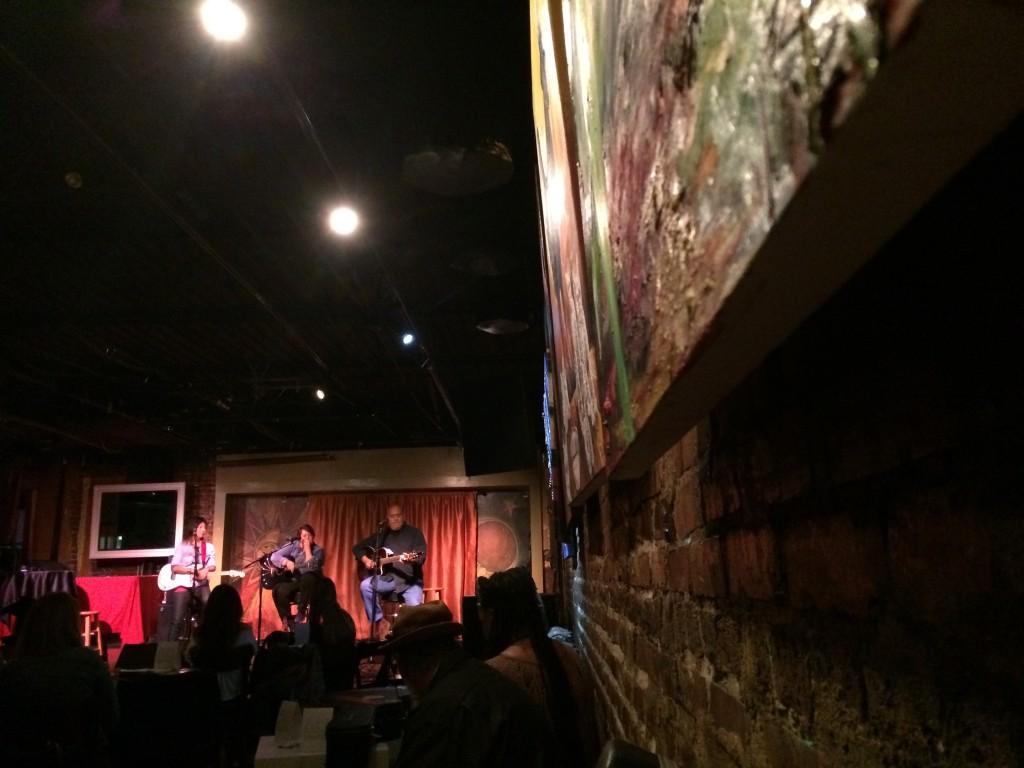 Mario, Deb, and Lila perform at Apache Cafe, Atlanta.