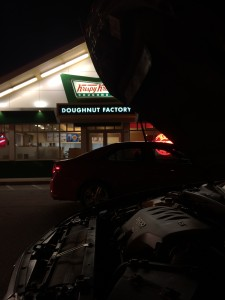 I was good. I did not eat a doughnut.