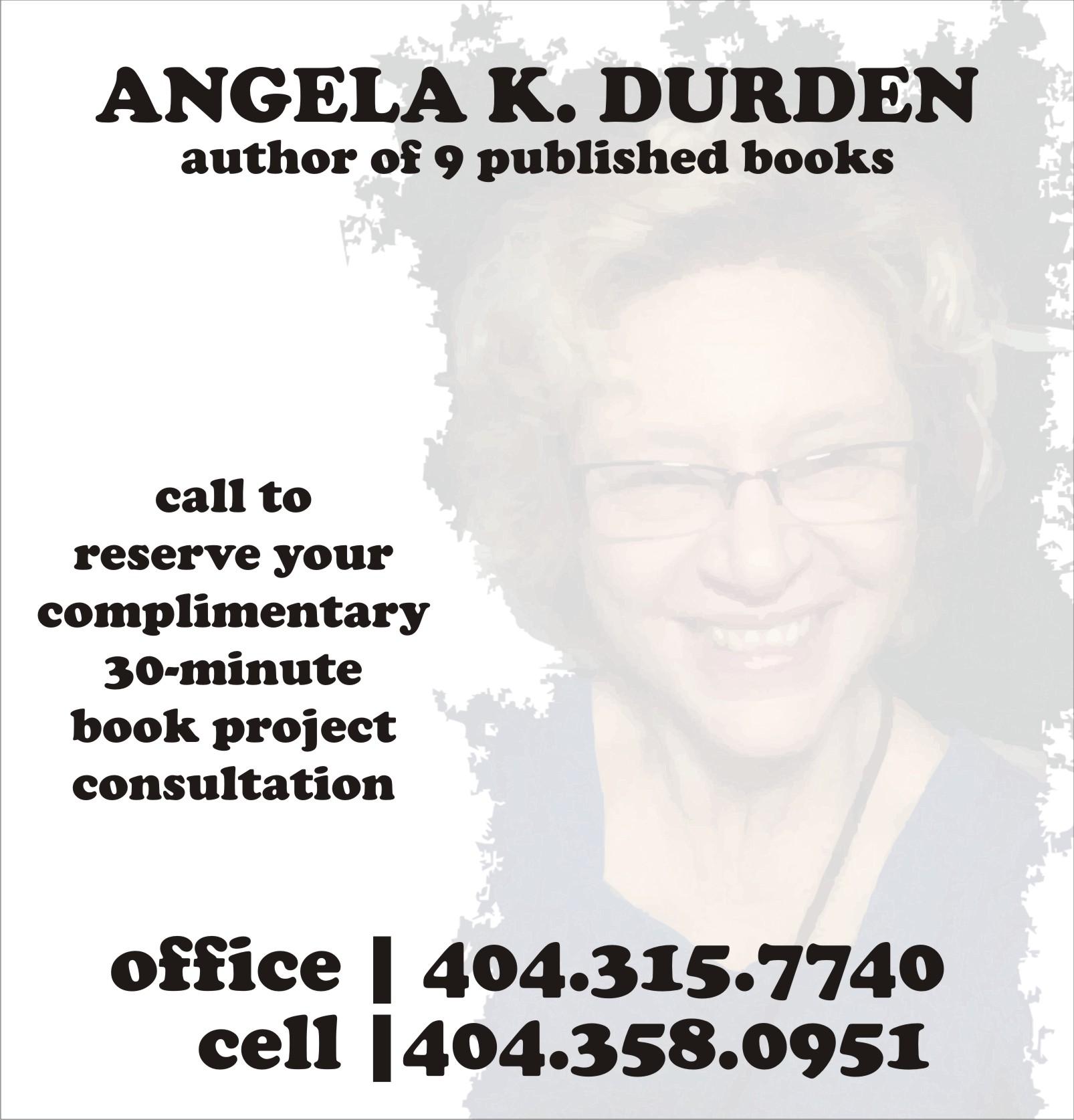 Durden_BookProjectConsultation
