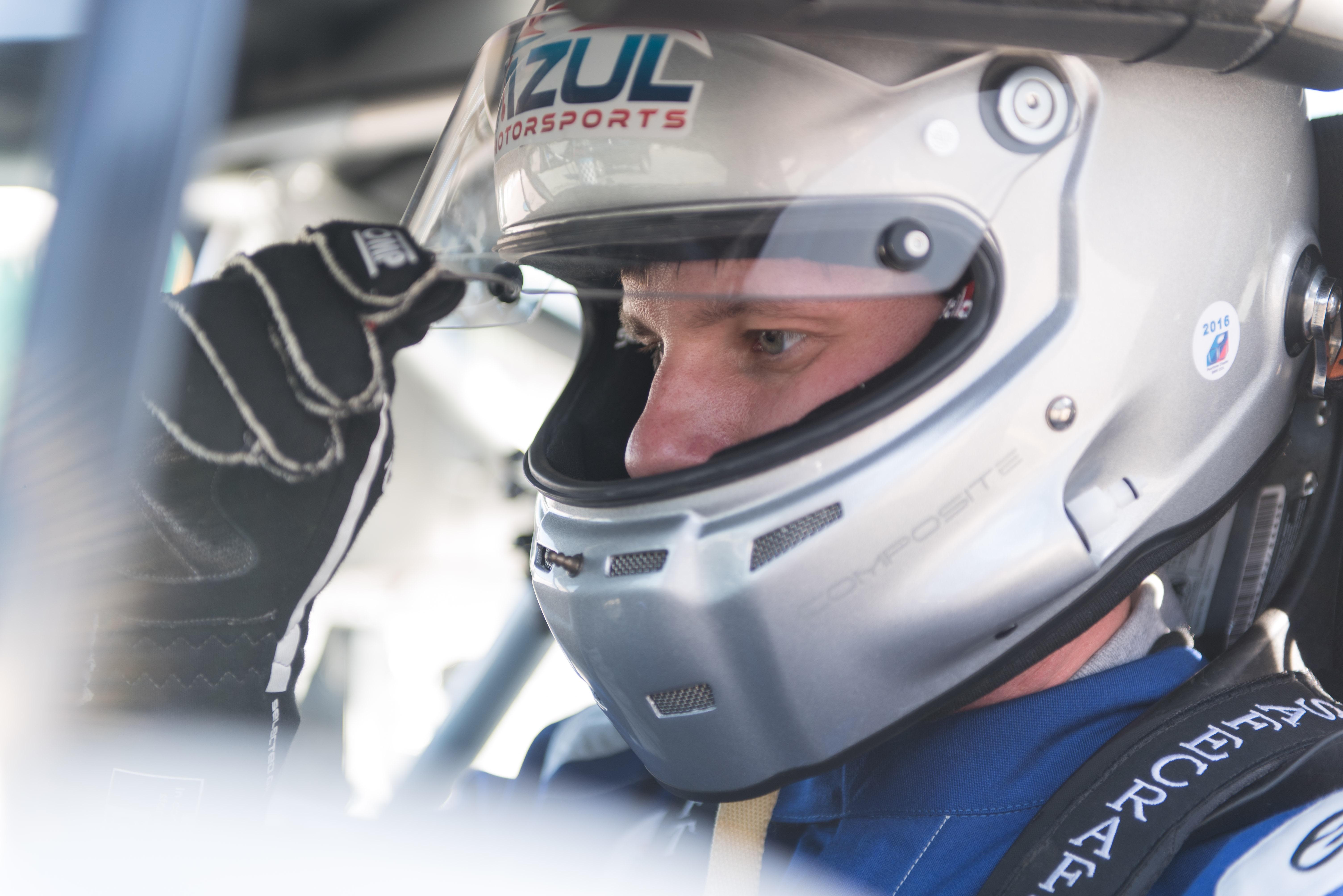Chris Grigalunas of AzulMotorsports.com
