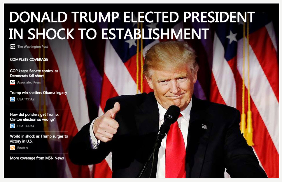 trumpelectedpresident